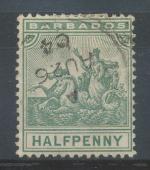 1892, Barbados Mi 43