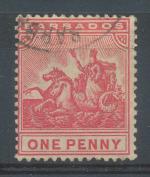 1892, Barbados Mi 44