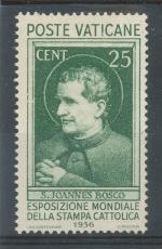 1936, Vatikán Mi-(*)53