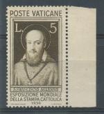 1936, Vatikán Mi-(*)58