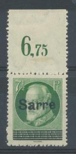 1920, Sársko Mi - *C31