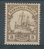 1901, Kolonie DR - Marshall-Inseln Mi - *13