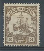 1915, Kolonie DR - Karolinen Mi - *21