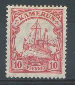 1905, Kolonie DR - Kamerun Mi - *22