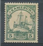 1905, Kolonie DR - Kamerun Mi - (*)21