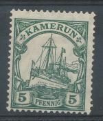 1905, Kolonie DR - Kamerun Mi - *21