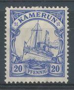 1905, Kolonie DR - Kamerun Mi - *23