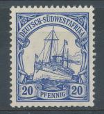 1906, Kolonie DR - Sudwestafrika Mi - *27