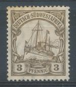 1906, Kolonie DR - Sudwestafrika Mi - *24